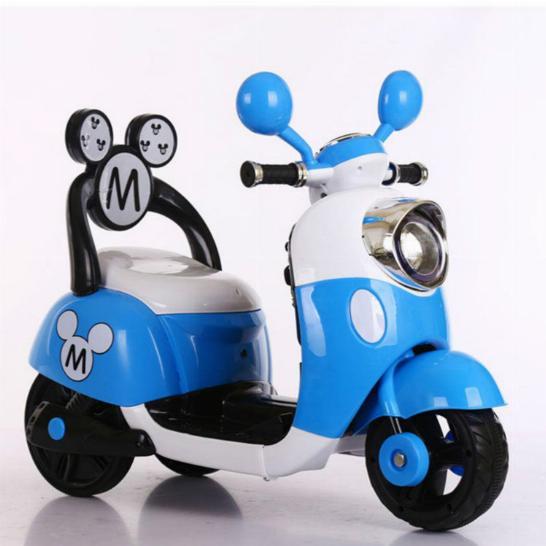 Электромотоцикл детский Микки Маус