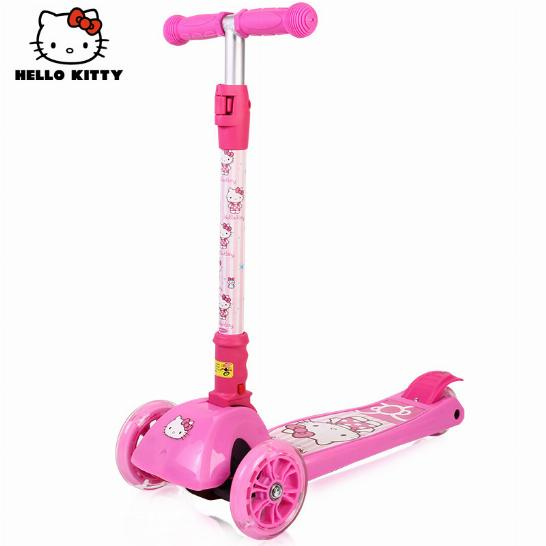 Самокат детский Hello Kitty